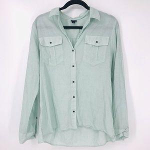 Patagonia Size L Lightweight A/C Buttondown Shirt